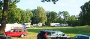 Typischer Campingplatz in Schweden
