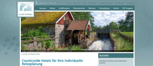 Mit Countryside Hotelschecks durch Schweden reisen