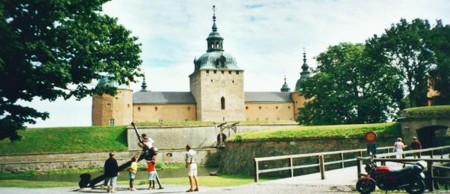 Kalmar: Schloss in der Hauptansicht