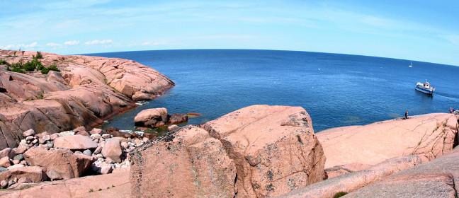 Blå Jungfrun im Kalmarsund
