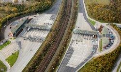 Öresundbrücke: Mautstation Lernacken