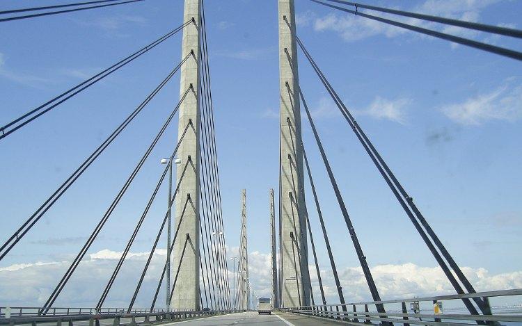 Öresundbrücke und ihre markanten Pfeiler