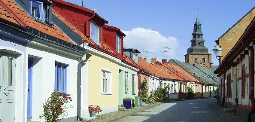 Ystad (Schweden): Altstadt, Wallander-Tour & Camping