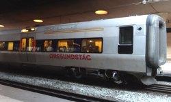 Öresundzug im Bahnhof Kopenhagen