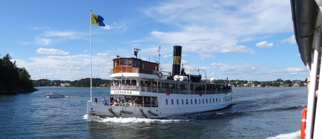 Stockholmer Schärengarten: Ausflugsboot