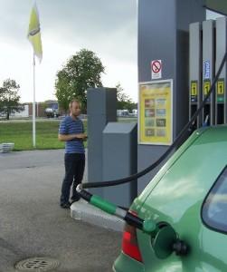 Günstige Benzinpreise in Schweden