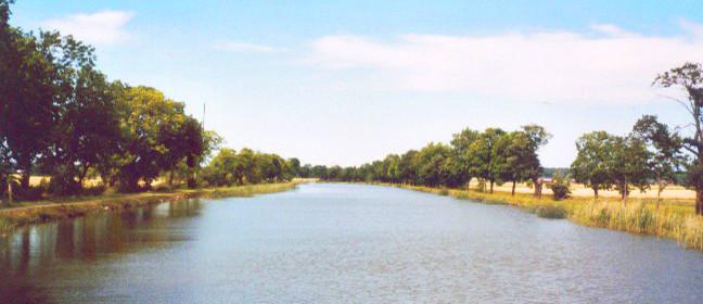 Götakanal in Schweden bei Sjötorp
