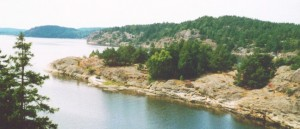Schären bei Göteborg und der Region Bohuslän