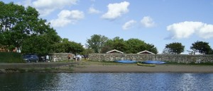 Zwischenstation auf dem Weg nach Gotland: Campingplatz vor Oskarshamn