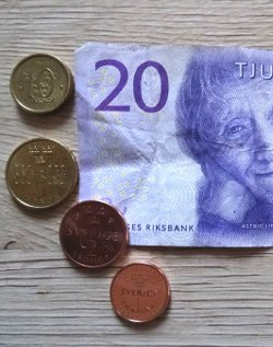 Schwedenkronen: Münzen