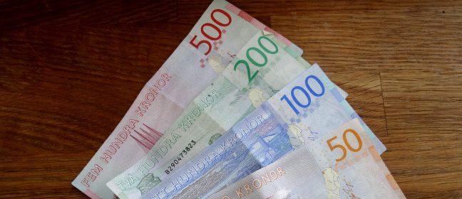 Schweden Kronen Euro