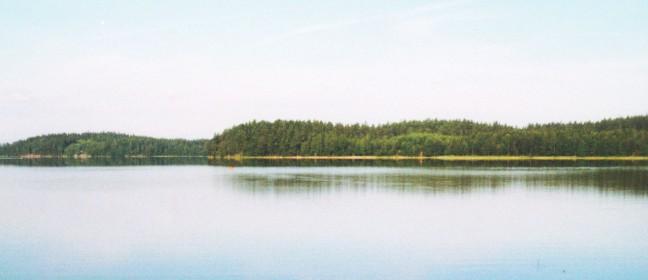 Västergötland: Camping am Holsjön
