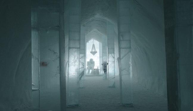 Schwedenbild vom Eishotel