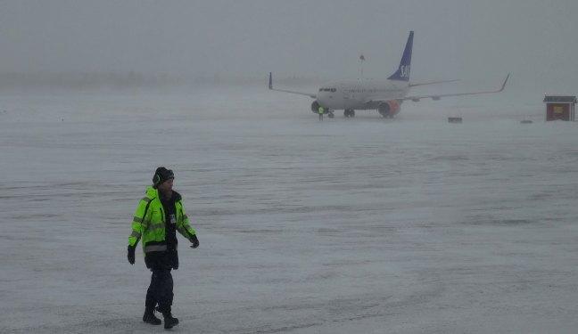 Schwedenbild vom Kiruna Airport