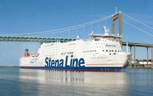 Stena Line-Fähre nach Schweden