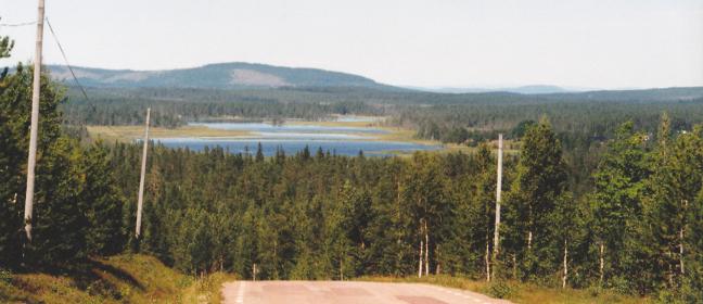 Orrmosjö in Härjedalen