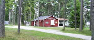 Wandern in Schweden: Campingplatz für Trekker