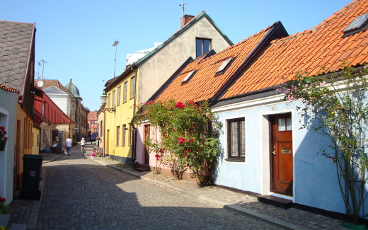Schweden Rundreise: Ystad in Schonen