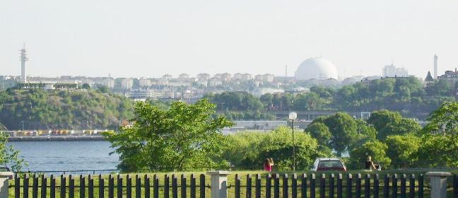 Keine Stockholmreise ohne Ausblick auf Globen
