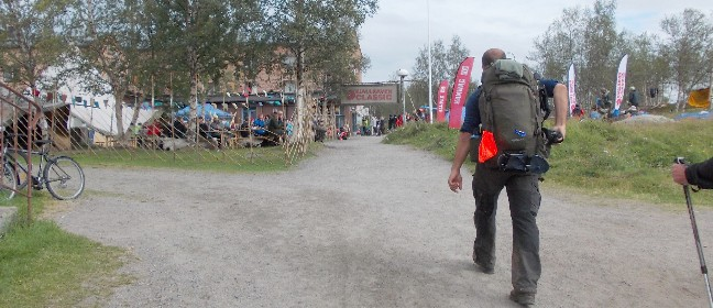 Zieleinlauf des Fjällräven Classic 2013