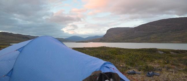 Zeltübernachtung beim Fjällräven Classic