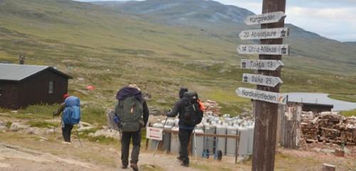Nordkalottleden – Anreise, Trekking-Etappen, Ski-Touren