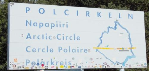 Nördlicher Polarkreis – 66. Breitengrad in Schweden