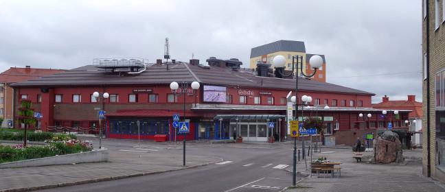 Kiruna Stadtzentrum