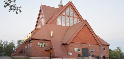 Kiruna (Schweden): große Kleinstadt mit Airport & Eishotel