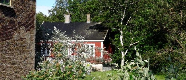 Garten in Schweden