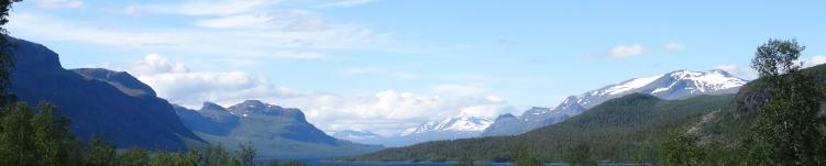 Nordschweden: Gebirge in Lappland