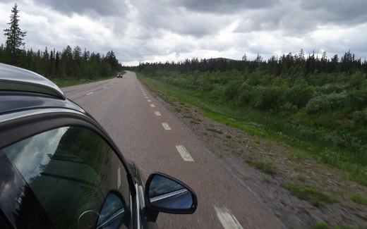 Nordschweden mit dem Auto bereisen