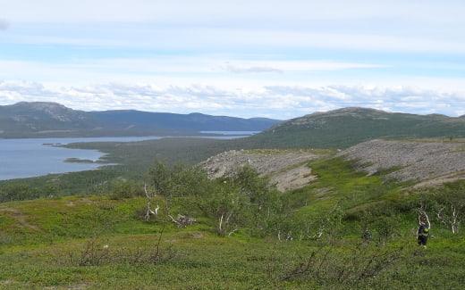 Wandern in Nordschweden