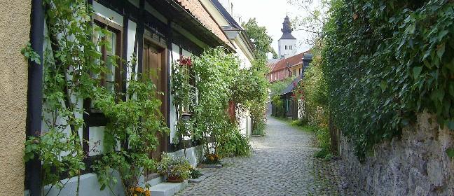 Welterbe: Altstadt von Visby (Gotland)