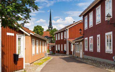 Dalarna: Altstadt von Mora