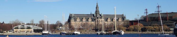 Stockholm: Blick auf Djurgården