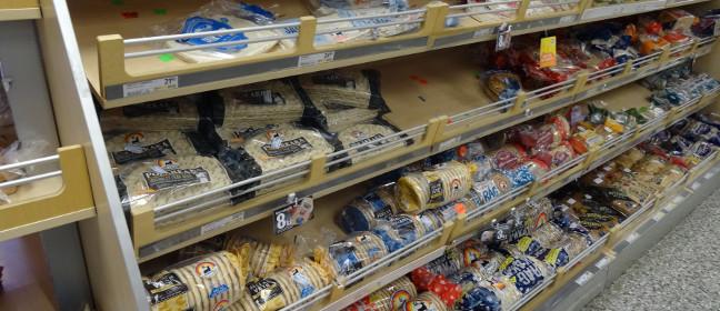 Schwedische Lebensmittel: verschiedene Brotsorten