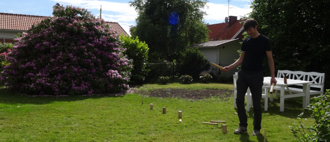 Schwedenschach - gespielt wird mit Hölzern