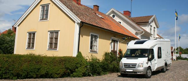 Wohnmobil in Schweden mieten