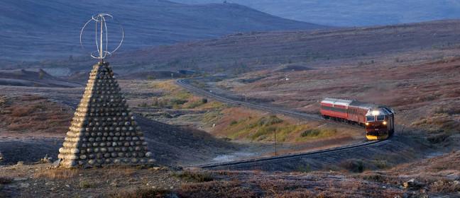 Nördlicher Polarkreis: Inlandsbahn