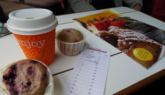 Inlandsbanan Bild: Frühstück