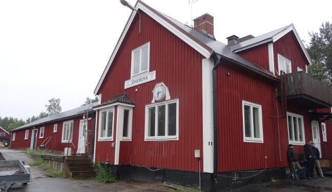 Inlandsbanan Bild: Bahnhof Jokkmokk