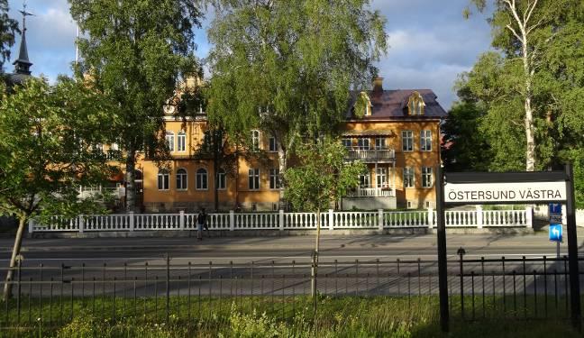 Inlandsbanan Bild: Östersund Västra