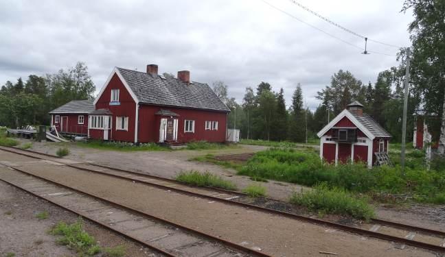Inlandsbanan Bild: Slagnäs