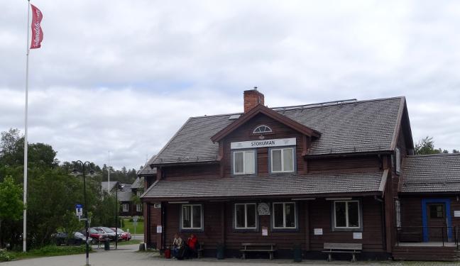 Inlandsbanan Bild: Storuman