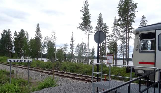 Inlandsbanan Bild: Norra Vilhelmina