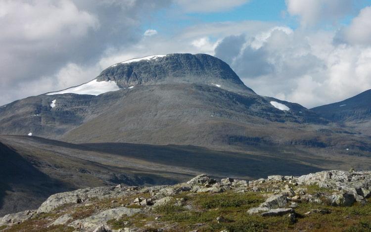 Lappland: Gebirge in Norrland