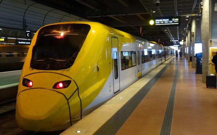 Arlanda-Express nach Stockholm