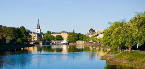 Karlstad (Schweden) mit Hammarö & Värmlands Schären