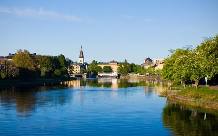 Metropole am Vänernsee: Karlstad